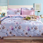 Flower Doona Duvet Quilt Cover Set King/Single/Queen Size Bed Covers New Cotton