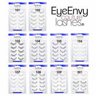 EyeEnvy False Eyelashes with Free Glue Natural Fake Eye Lashes Black UK 101-109