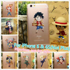 One Piece All Characters Soft Rubber Cover Case For Apple iPhone 6 and 6S