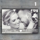 Shabby chic Personalised Photo Wedding Thank You Cards & Envelopes
