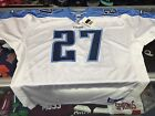 Tennessee Titans Eddie George NFL Reebok AUTHENTIC White Jersey