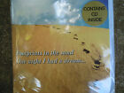 Birthday Greetings Gift Card Contains CD footprints in the sand 1 Message Blank