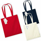 Westford Mill Earth Aware Tote Organic Cotton Canvas Shopping Bag - Wholesale