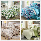 100% Cotton Doona Covers Queen Double King Bed Size New Quilt Duvet Covers Set
