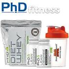 PhD Nutrition Diet Whey 1kg + 2 x Lean Degree 100 caps + FREE Shaker