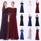 US Long Mother Of The Bride Dresses Lace Formal Evening Gown Ever Pretty 08412