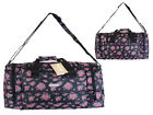 "NEW HI-TEC FLORAL 18"" HOLDALL HIKING TRAVELING GYM BAG FOR GIRLS LADIES WOMEN"