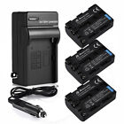 2300mAh NP-FM50 Battery+Charger For Sony Alpha A100 DSC-S85 F707 F717 DCR-TRV280