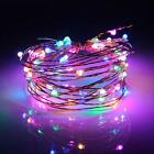 2/5/10m Usb Power Led Copper Wire Strip Fairy Light String Party Waterproof Us