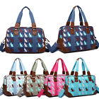 Ladies Large Oversize Maternity Weekend Overnight Luggage Cat Pattern Hand Bag