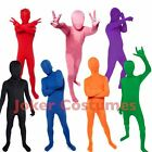 Kids Morphsuit Boys Girls Costume Plain Color Bodysuit Great
