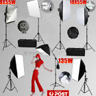 ☆PRO.Photo Studio Softbox Continuous Lighting Soft Box Light Boom Arm Stand Kit☆