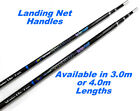 Telescopic Fishing Landing Net Handle Extra Strong - 3.0m or 4.0m Option