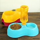 2 in1 Healthy Pet Feeding Bowls Automatic Drinking Feeding Basin Dog Cat Food