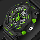 New Watch Sport Quartz Wrist Men Mens Analog Digital Waterproof  Military