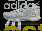 NEW ADIDAS Crazylight Boost Low 2016 Men's Basketball Shoes -White/White; B42425