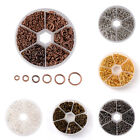 1Box Mixed Size 4~10mm Iron Jump Rings Findings about 1745pcs/box Jewelry Making