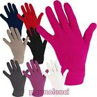 Women's gloves mitts knitted winter basic solid colour gift idea EM-011