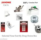 100% Genuine Janome Feet & Parts - Selection For Category A Machines Only