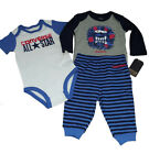 Converse 3 Piece Striped Baby Suit Set, Available in 4 Sizes