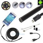 Kyпить 3.5/5M 7mm Android Endoscope Waterproof Borescope USB Inspection Camera 6 LED на еВаy.соm
