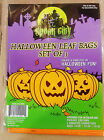 Halloween Pumpkin or Ghost/Bat/Cat Leaf Bags-Set of 3