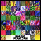550 Paracord Rope Mil-Spec Type III - 60 Additional Colors & Patterns!