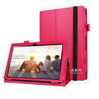 "Keyboard Stand Leather Pouch Case Cover For 10.1"" Lenovo MiiX 310 10ICR Tablet"
