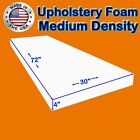 """High and Medium Density #FoamTouch Upholstery Foam size (1-6)"""" X 30"""" X 72"""""""