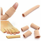Silicon Gel Fabric-Covered Toes Fingers Tube Bunion Protector Calluses Corns
