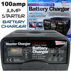 SW100JS Automatic 15 amp 12v Car Van Boat Liesure Battery Charger Jump Starter