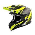 SCORPION VX-35 KRUSH NEON YELLOW/BLACK Dirt Full Face ECE DOT FREE SHIPPING