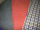 100% Cotton Fabric – Vintage-style Prints – Your Choice BTHY – #1121