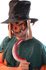 HALLOWEEN/Creepy/Scary/Evil SCARECROW MASK & HAT SET Perfect for Fancy Dress