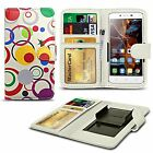 For HTC One X9 - Clip Printed Series PU Leather Wallet Case