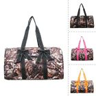 BnB Natural Camo Print NGIL® Large Quilted Duffle Bag