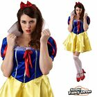 Adult Ladies Sexy Snow White Fancy Dress Book Week Costume