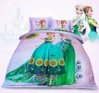 *** Frozen Satin Single Bed Quilt Cover Set - Flat or Fitted Sheet ***