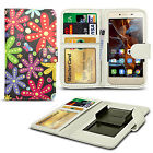 For Panasonic Eluga I2 - Clip Printed Series PU Leather Wallet Case