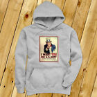 UNCLE SAM ARMY WANT YOU  RECRUIT AMERICAN SOLDIER Mens Gray Hoodie