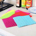 Bamboo Fiber Dish Cloth Washing Towels Absorbent Kitchen Cleaning Wiping Rags
