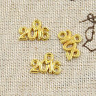 graduation charms gold