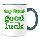Personalised Gift Good Luck Mug Money Box Cup Funny Novelty Slogon Logo Poster