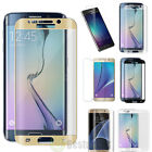 Full Cover Tempered Glass Screen Protector Fr Samsung Galaxy S6 S7 Edge + Note 4