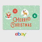 Gift Cards Best Deals - eBay Digital Gift Card - Holiday Designs - Email Delivery