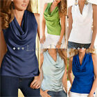Fashion Womens Summer Vest Top Sleeveless Blouse Casual Tank Tops T-Shirt NEW