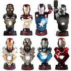 Iron Man 3 Hot Toys Deluxe Mini Bust Set Of 8