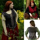 Womens Vest - 2 Colours - Perfect For LARP Or Re-Enactment Costume