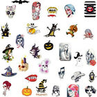 Sticker / Tattoo / One Stroke - Halloween / Karneval / Skull -  - 702