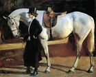 My Horse Is My Friend by A. J. Munnings (Classic English Realism Art Print)